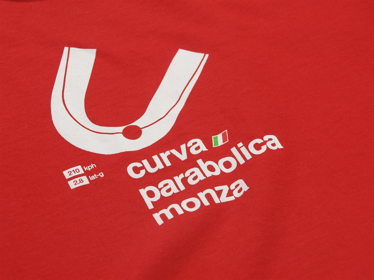 parabolica red short sleeve logo
