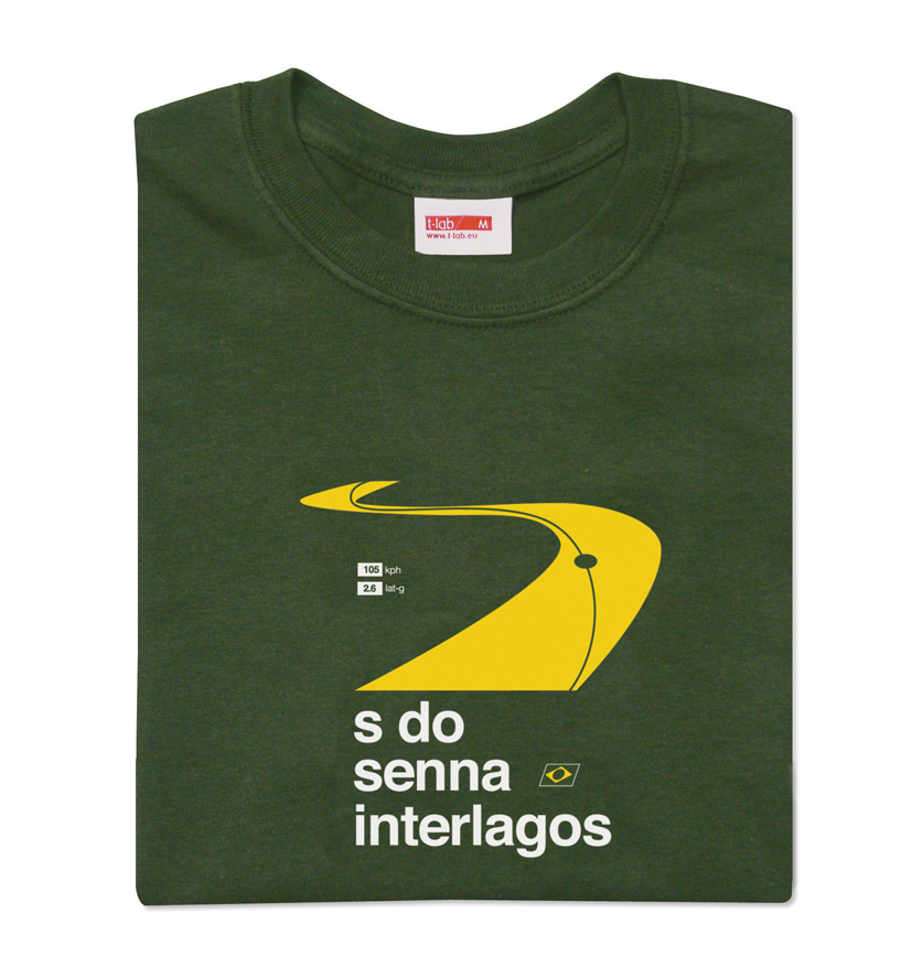 S do Senna t-shirt