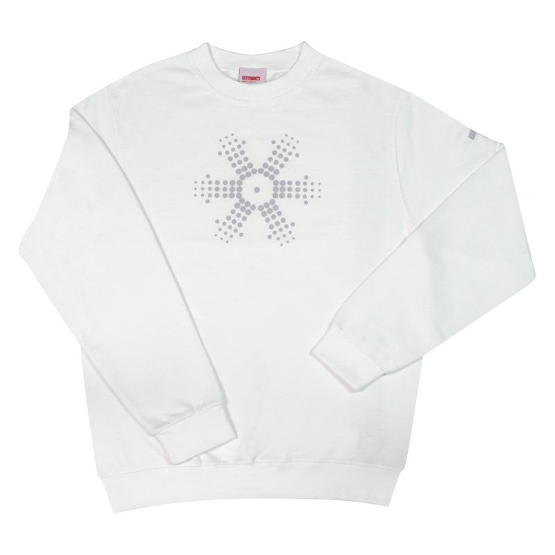 Big Snow white sweatshirt