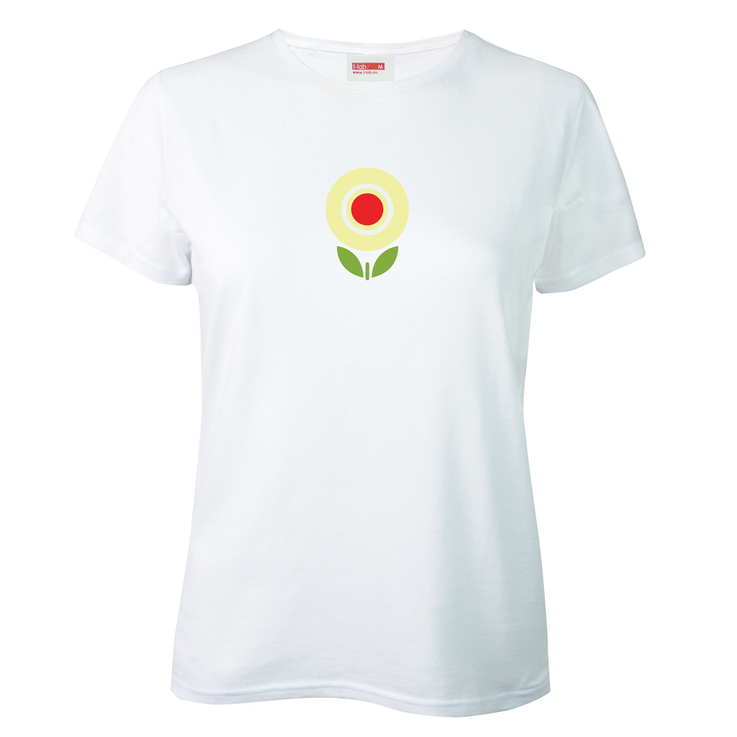 T-lab Flowertime womens t-shirt