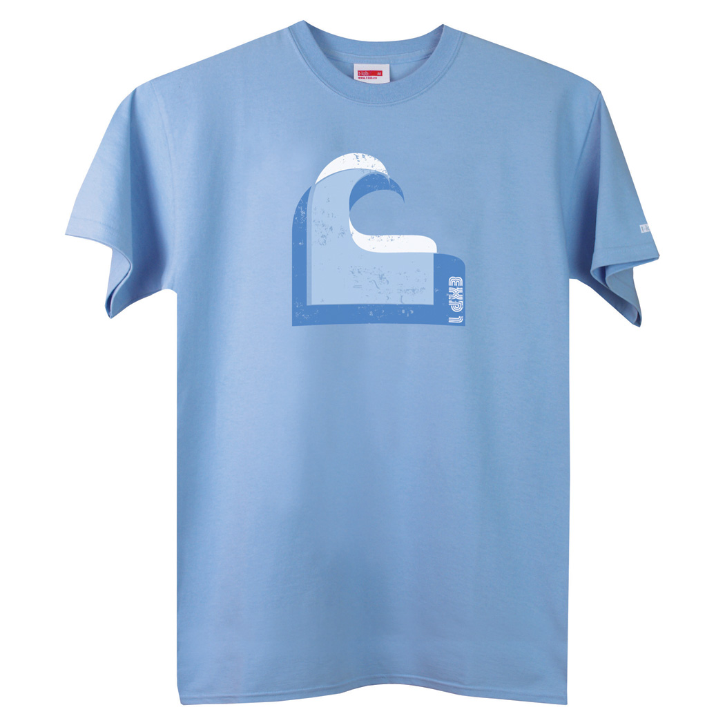 T-lab Wave mens t-shirt