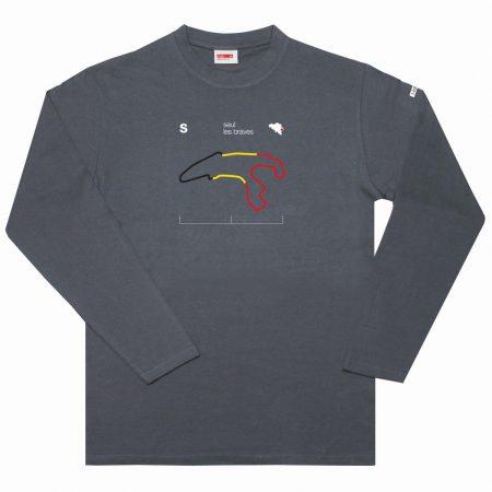 T-lab Seul les braves mens long-sleeve t-shirt