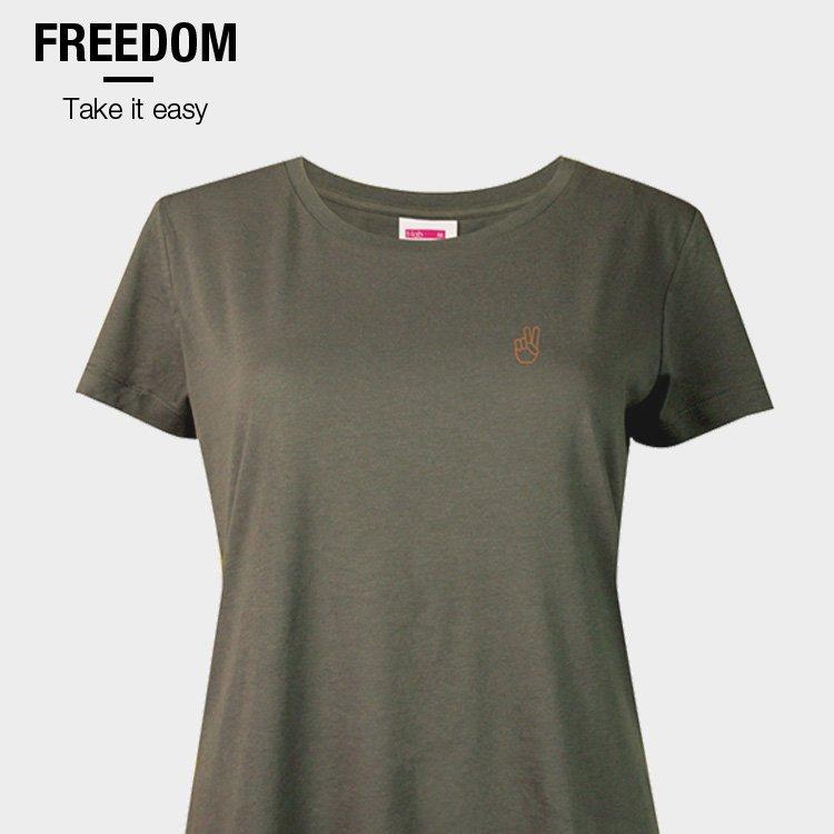 Freedom Take it easy T-shirt