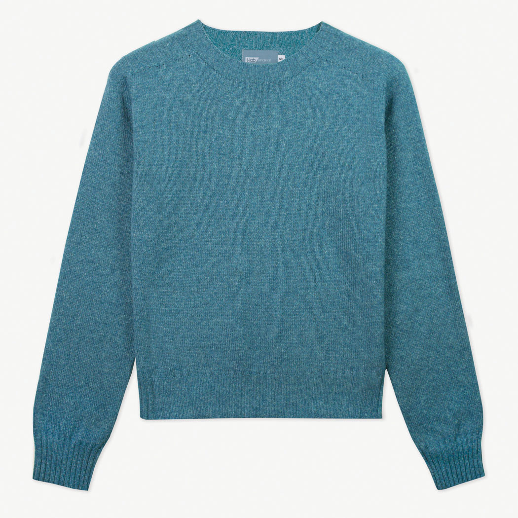 T-lab Alana womens sweater kingfisher