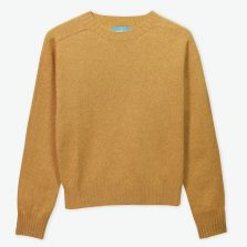 Bruce T-lab womens sweater orange full