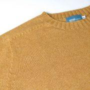 Bruce T-lab womens sweater orange neck