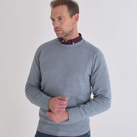 T-lab-Bruce-drift-blue-mens-knitwear