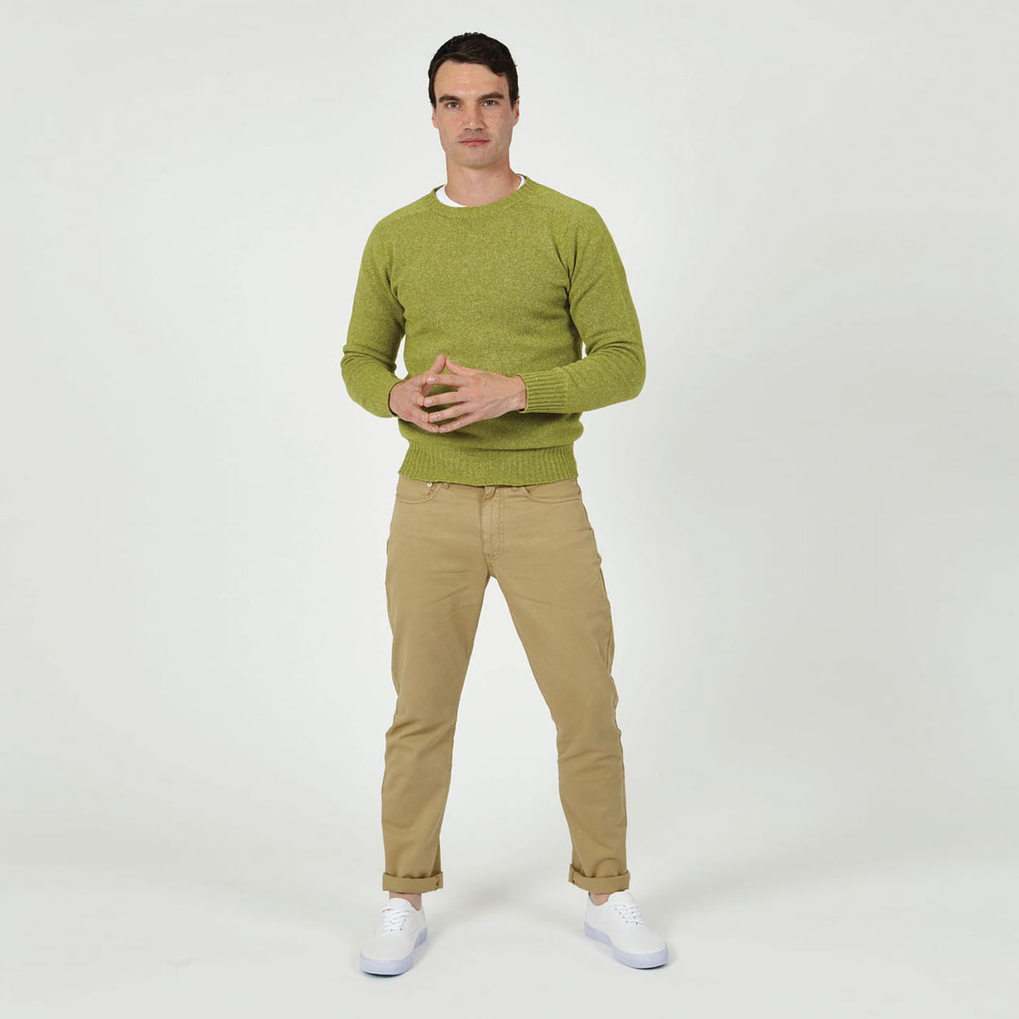 T-lab-Bruce-mens-sweater-green