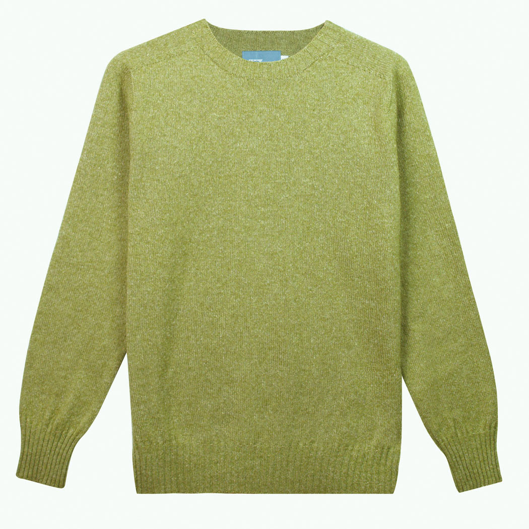 T-lab Bruce mens sweater green