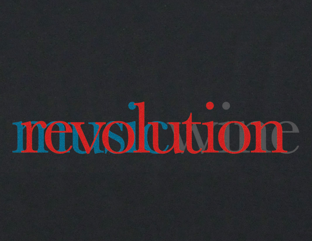 Revolution T-lab mens t-shirt black chest
