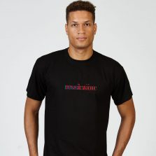 Revolution T-lab mens t-shirt black model full