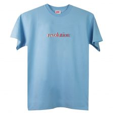 Revolution T-lab mens t-shirt blue full