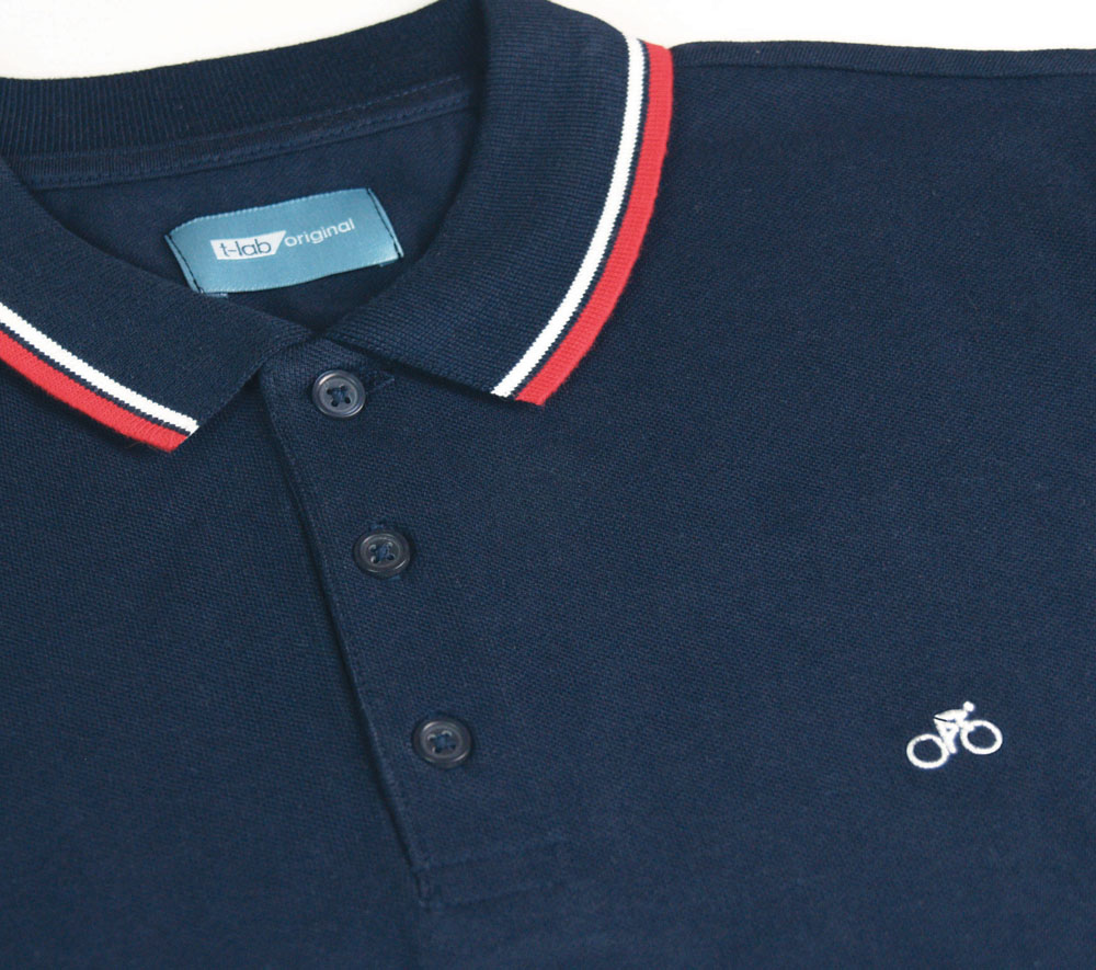 VeloPolo T-lab cycling polo shirt