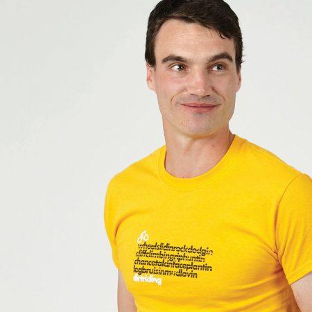 T-lab DirtRider cycling t-shirt model crop