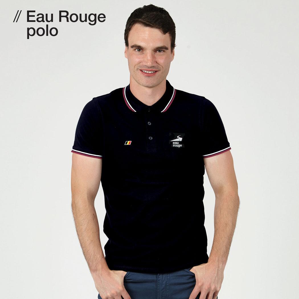 T-lab Eau Rouge mens polo