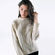 T-lab Alpina womens knitwear cream