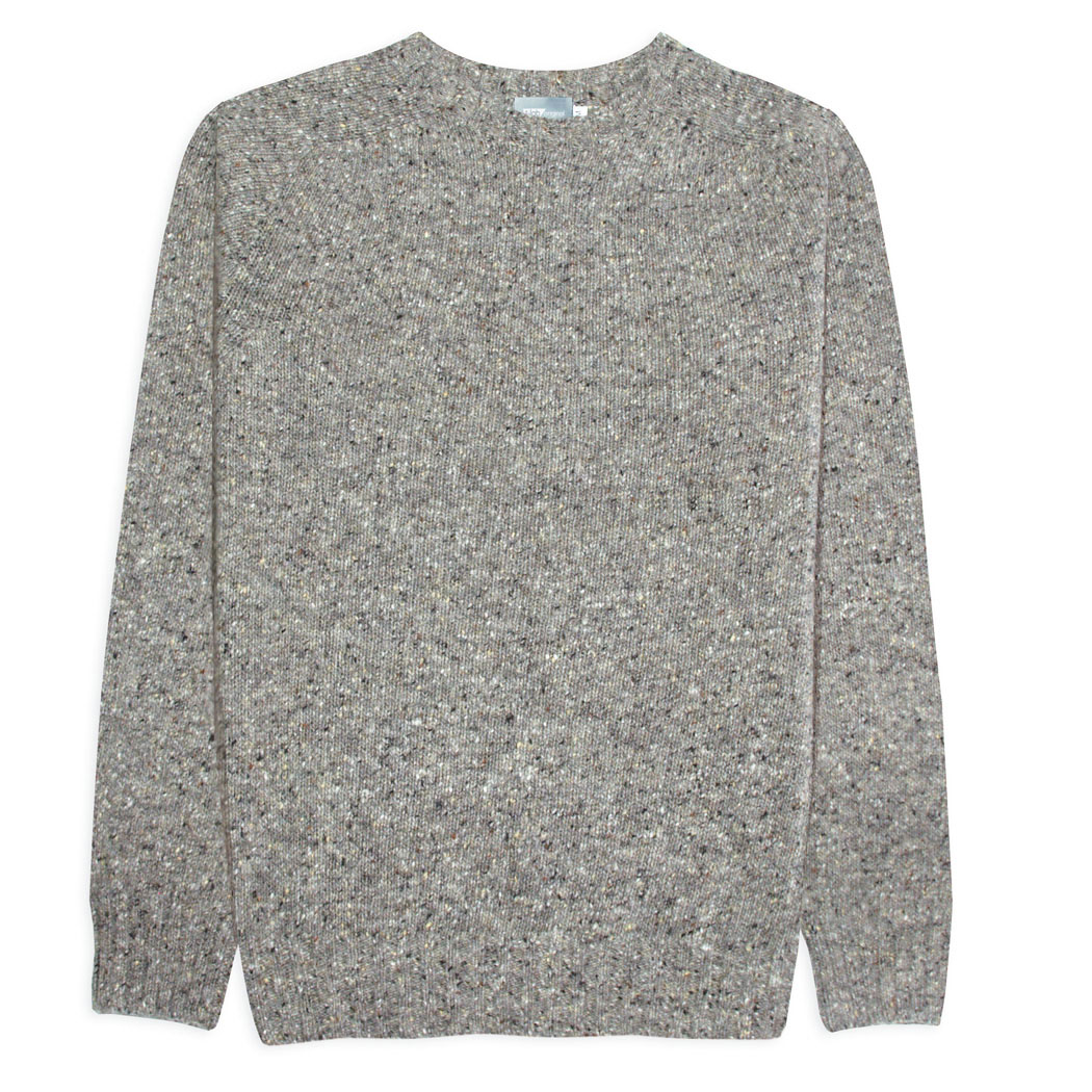 T-lab Coll Granite mens knitwear grey