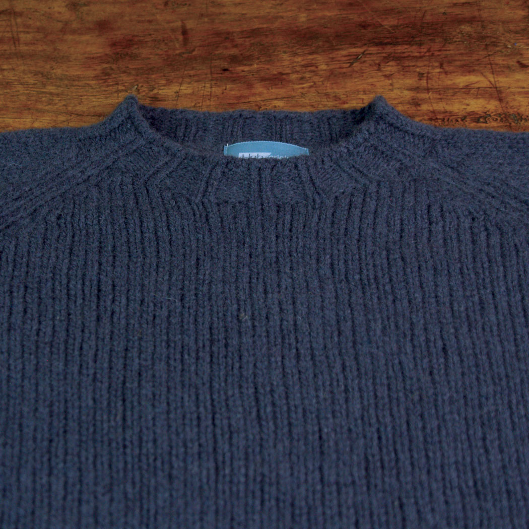 T-lab Coll Navy mens knitwear