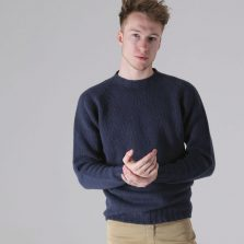T-lab Coll mens sweater navy