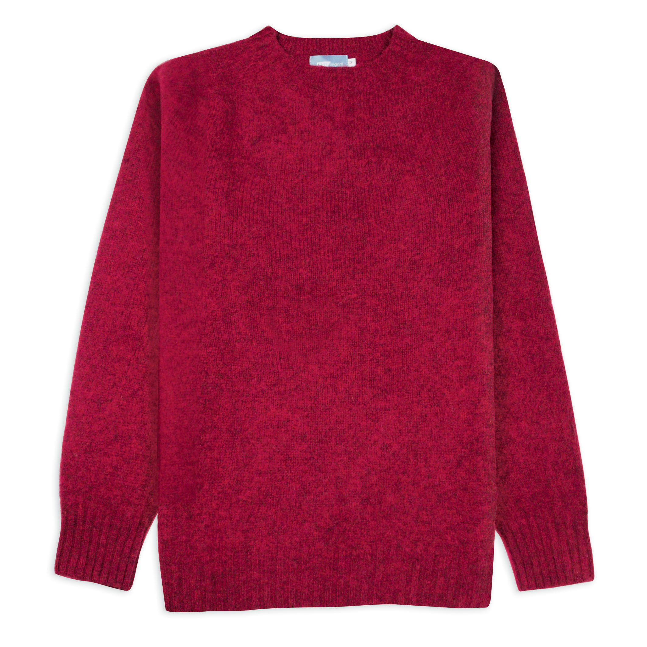 T-lab Coll mens sweater brushed red