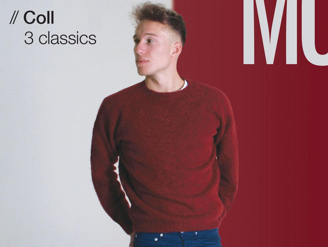 T-lab Coll mens knitwear