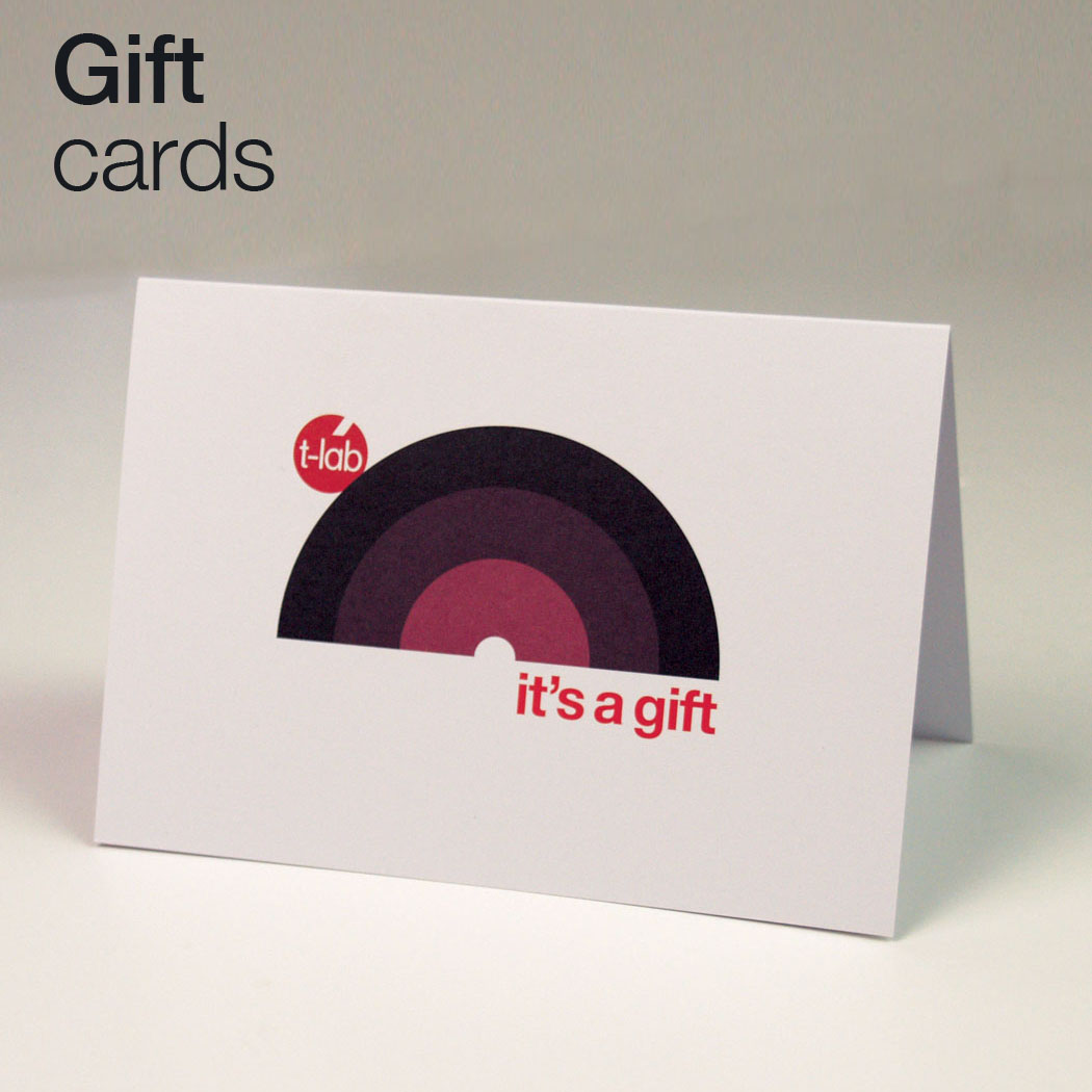 T-lab Gift cards