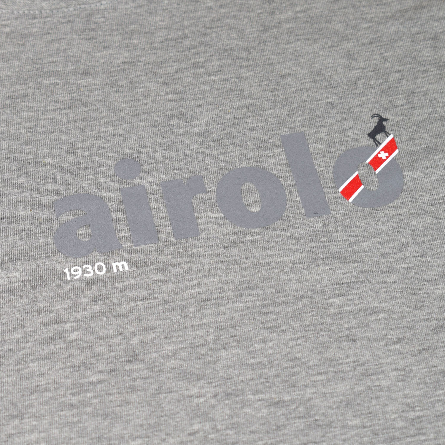 T-lab Airolo longsleeve t-shirt grey closeup
