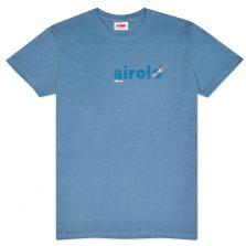 T-lab Airolo mens t-shirt blue full