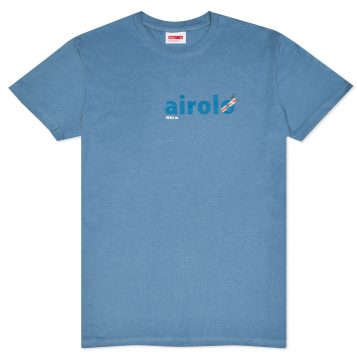 T-lab Airolo mens t-shirt blue full