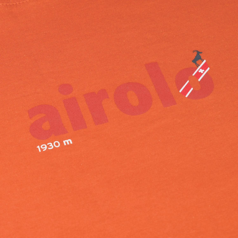 T-lab Airolo womens t-shirt orange