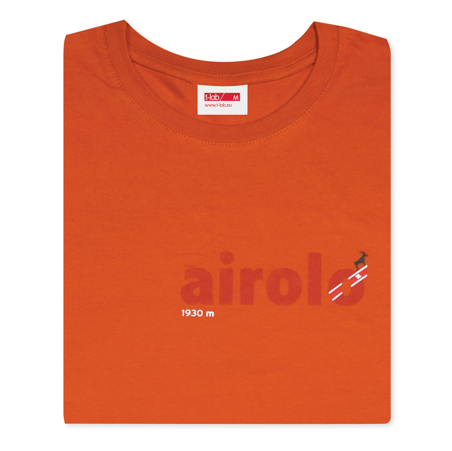 T-lab Airolo t-shirt orange full