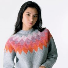T-lab Aosta womens knitwear closeup