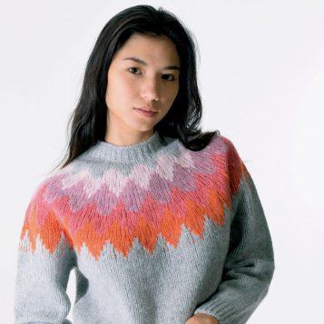 T-lab Aosta womens knitwear closeup