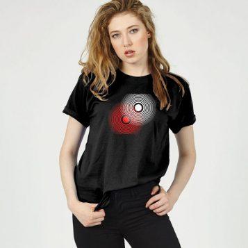 T-lab Night Run boyfriend t-shirt