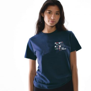 T-lab ski squad boyfriend t-shirt model