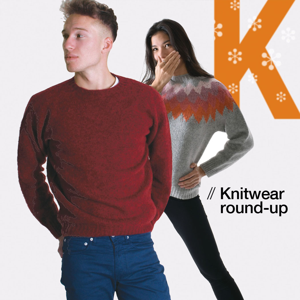 T-lab knitwear roundup