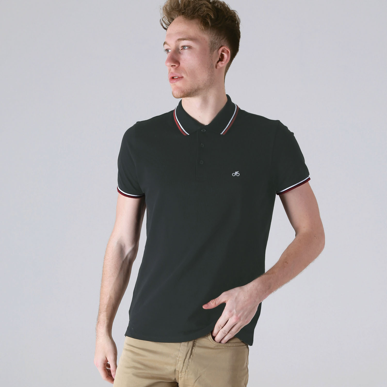 T-lab VeloPolo men's polo black