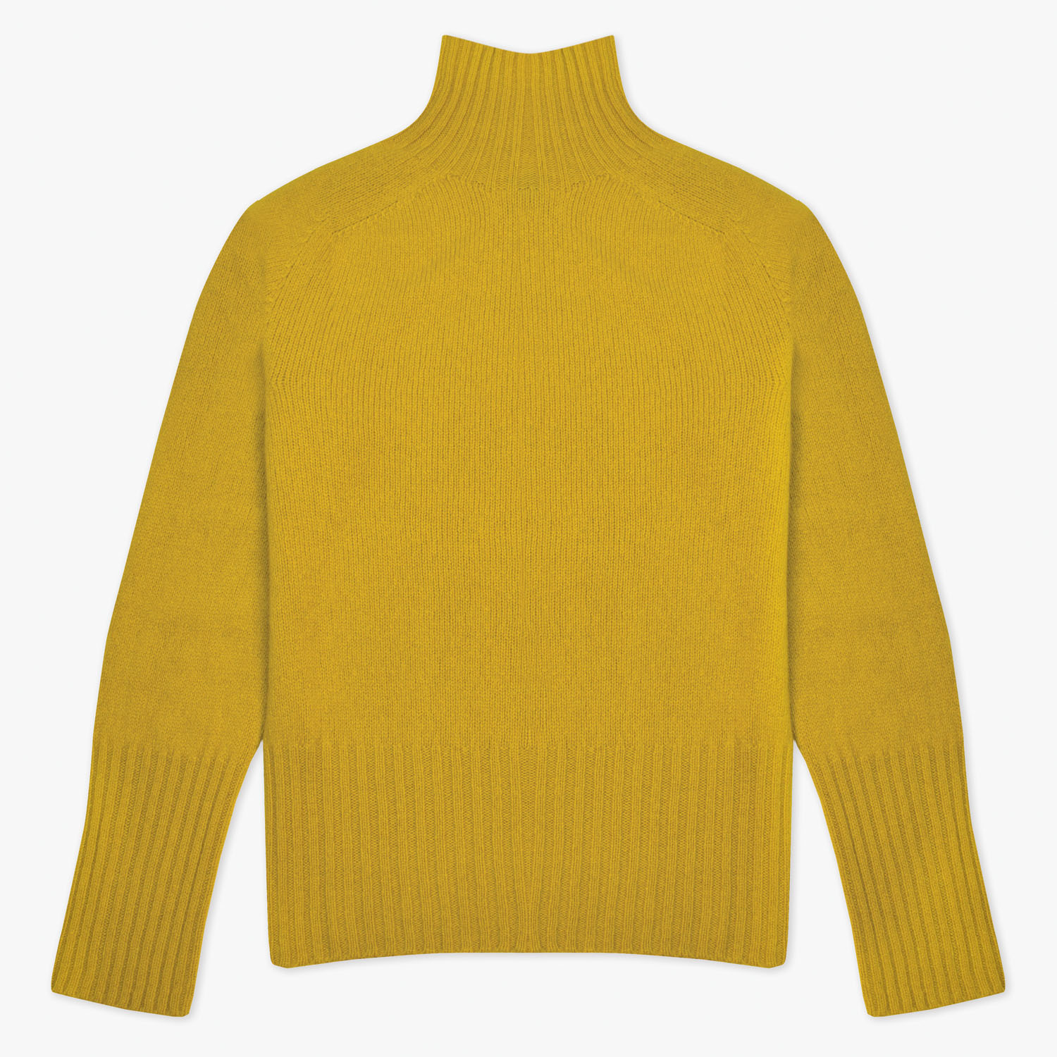 T-lab Skye womens knitwear saffron full