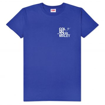 T-lab Tourmalet mens t-shirt blue full