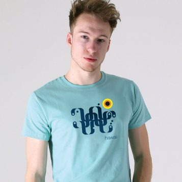 T-lab-Hawaii-Mens-mint-t-shirt-model-square