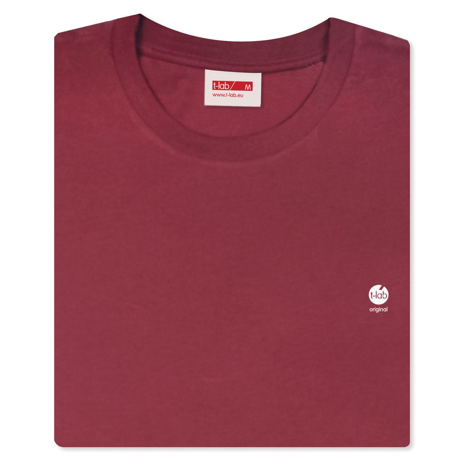 T-lab-Mio-mens-organic-t-shirt-burgundy