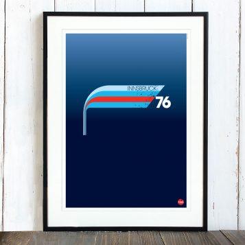 T-lab-Innsbruck-ski-poster-framed