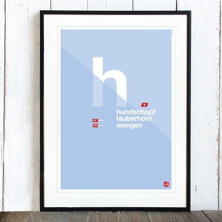 T-lab-Hundschopf-A3-ski-poster-framed