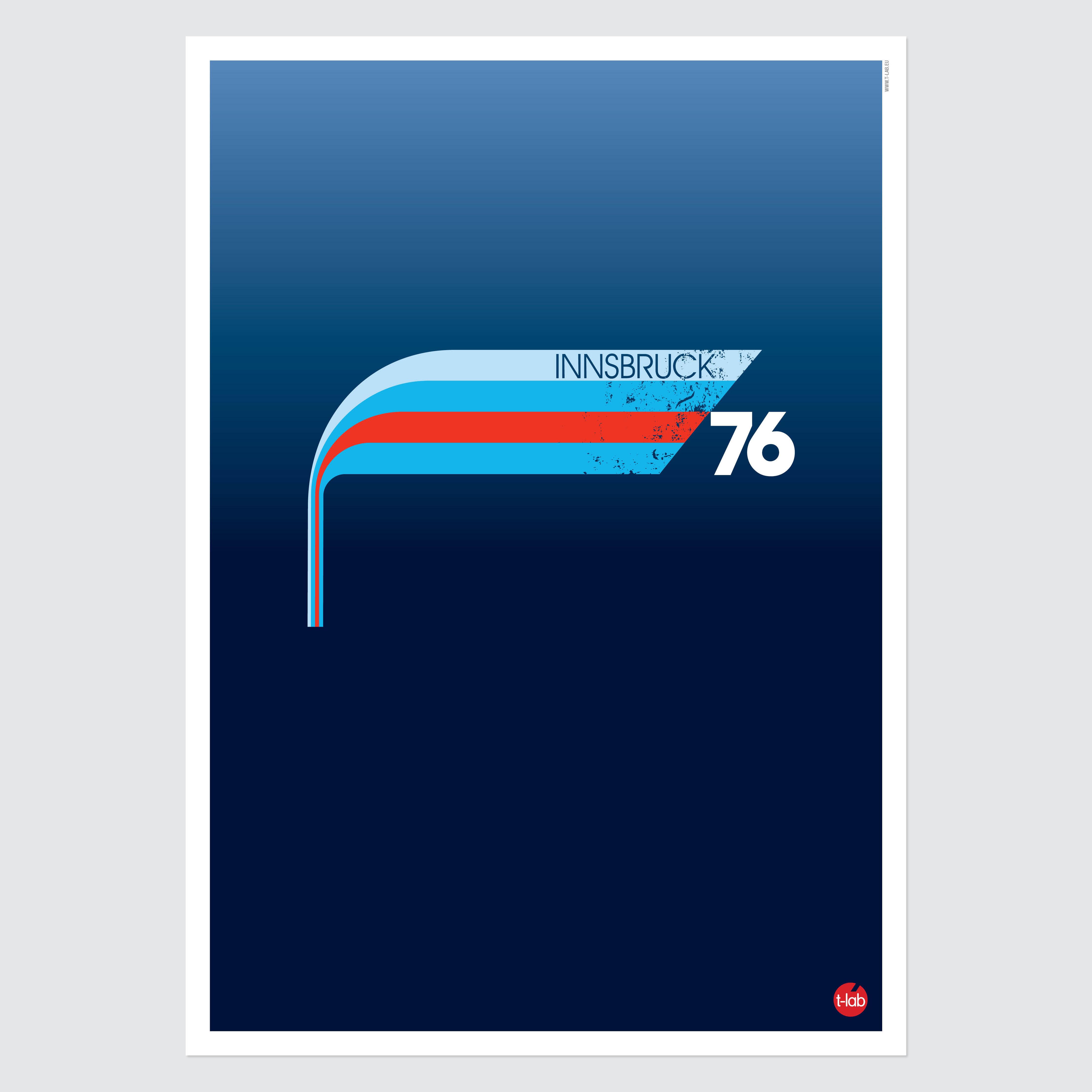 T-lab-Innsbruck-ski-poster-A3-unframed