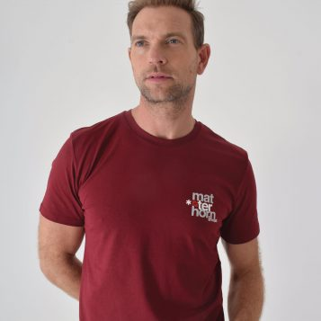 T-lab-Matterhorn-ski-t-shirt-burgundy