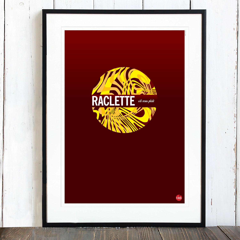 T-lab-Raclette-A3-ski-poster-framed