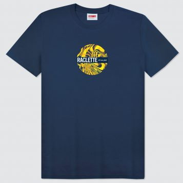 T-lab-Raclette-mens-t-shirt-navy