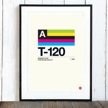 T-lab-T-120-A3-poster-framed