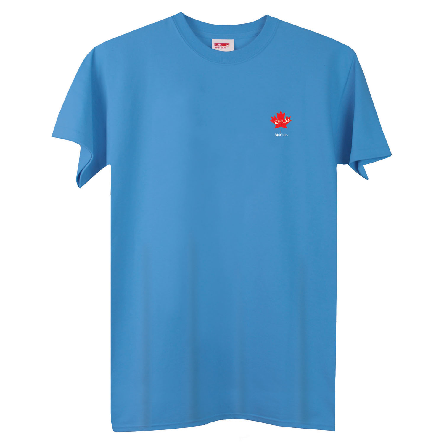 T-lab-Whistler-mens-t-shirt-azure