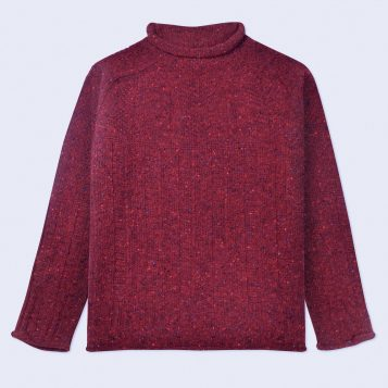 T-lab-Alpina-Red-womens-knitwear